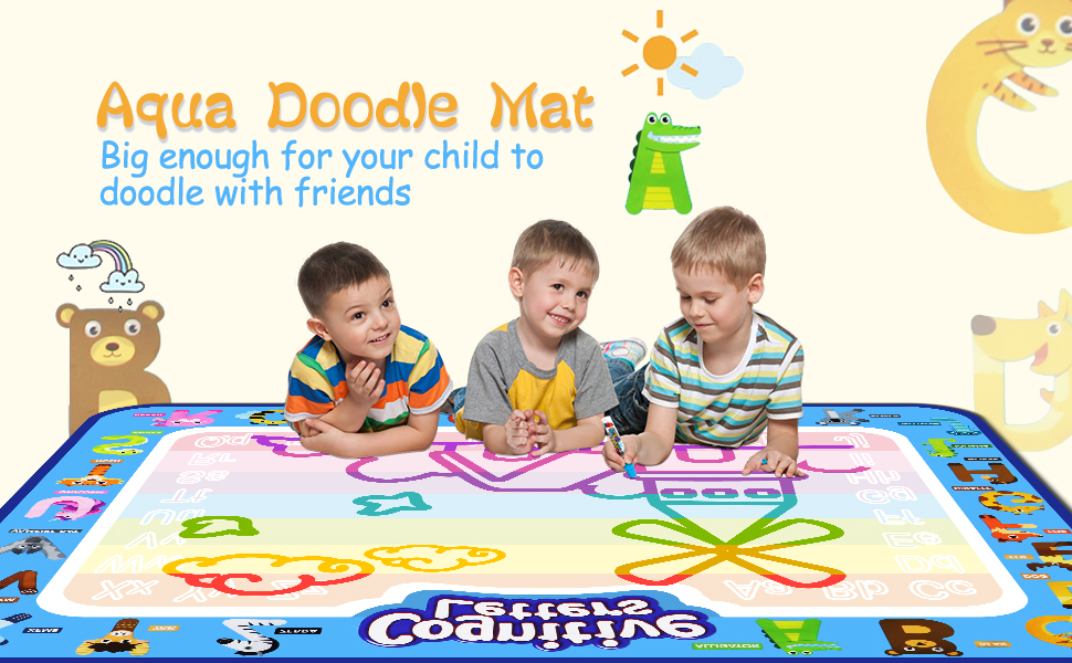 water doddle mat