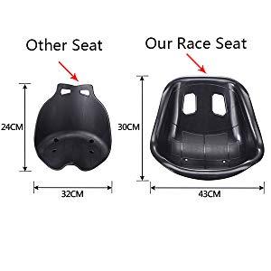 Hoverkart seat