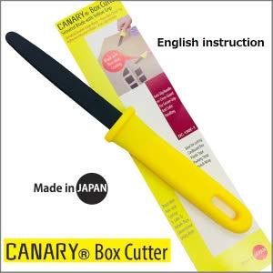 """Canary carton ondulé Cutter /""""Dan Chan/"""" Fluor Revêtement Jaune DC-190F"""