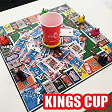party games for adults board game night beer drinking gifts for him, grown up games party
