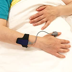 Lookee Sleep Monitor - Pulse Oximeter with Sleep Apnea Smart Vibration Alarm