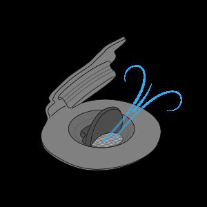 innovative patented rapid inflation deflation valve design