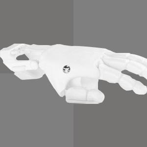 left side image of petg white 3d printing filament
