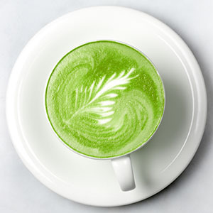 caffeine ratio in 1 teaspoon of matcha, l-theanine for calming effect and concentration