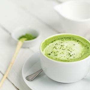 culinary matcha recipes, matcha latte ingredients and instructions