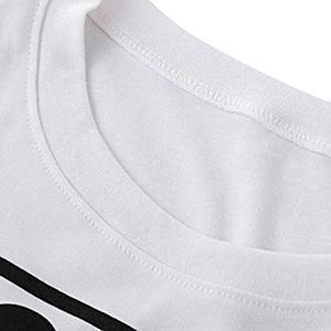 WLLW Women Long Sleeve Crew Neck NASA Letter Print NASA Shirt Blouse Sweatshirt