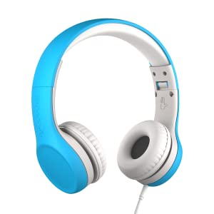 Blue Connect+ Wired Volume Limited Headphones with SharePort for Kids/Children for Ages 3-7