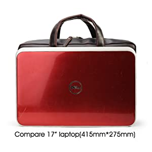 Genuine Leather Messenger Office Briefcase