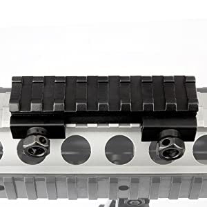 85mm Scope Riser Base Mount D0016 Lead Rail 8 Slot Fit AR Series//M Series /&Other