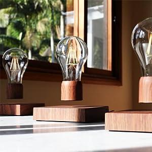 floating magnetic light bulb,levitating light bulb,floating lightbulb,unique gifts,night toys,