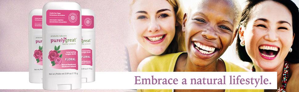 Floral, natural, deodorant, vegan, no aluminum, best deodorant for women, Stick deodorant,
