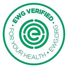 EWG Verified, vegan, Natural, organic,