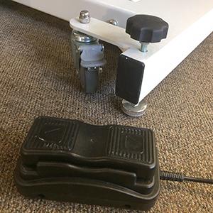 "Electric Massage Table, Manual Tilt, Length 84"", Height Range: 20-38"