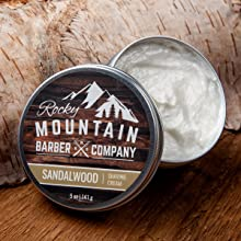 Sandalwood Shaving Cream - Smells Like Sandalwood