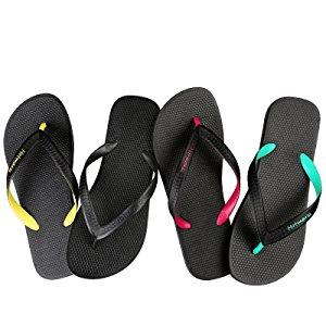 e639b59d8449 Hotmarzz Men s Classic Flip Flops Summer Sandals Pool Bathroom Beach ...