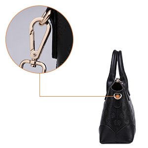 c061d045e141 BOYATU Genuine Leather Handbags for Women Business Office Ladies Shoulder Bag  Top Handle Satchel Tote 73153