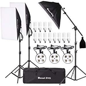 complete photography lighting kit