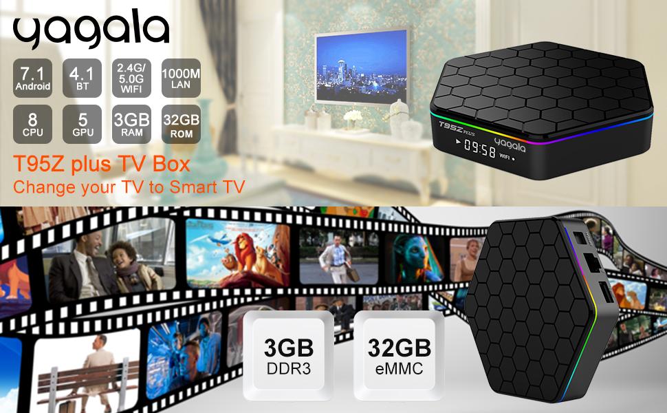 T95Z PLUS TV BOX