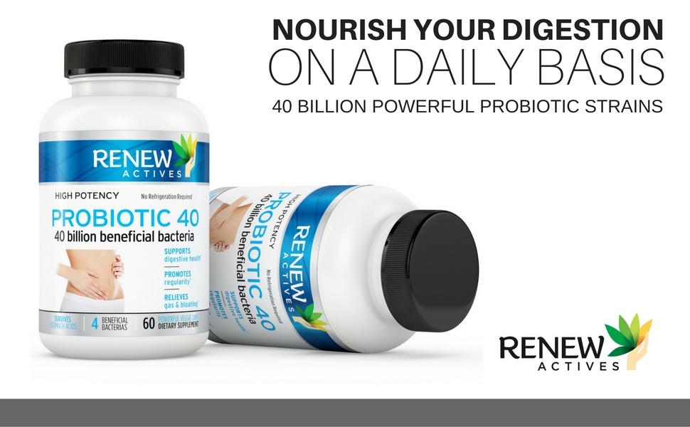 Renew Actives Probiotic 40