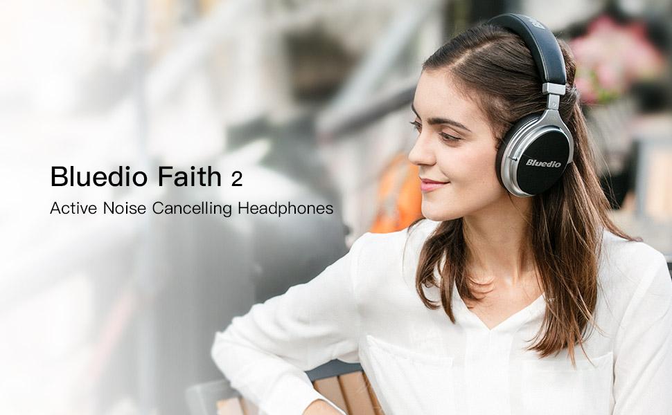 733a139f16b Bluedio F2 (Faith) Active Noise Cancelling Over-ear Business Wireless  Bluetooth Headphones