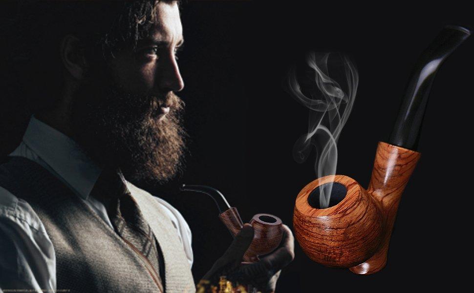 картинка с курительной трубкой вечерней съёмки