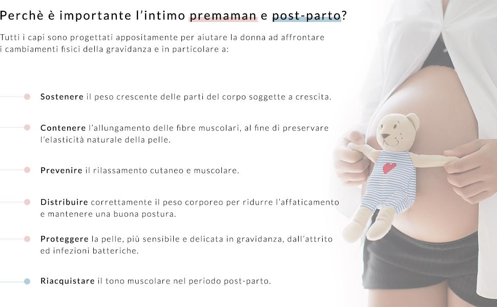 RelaxMaternity 5730 Reggiseno Premaman in Cotone Supporto Seno Spallina Regolabile