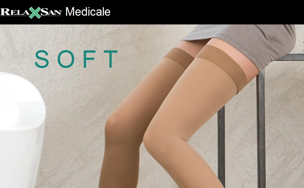 Relaxsan M1190 Collant gravidanza medicali classe 1 K1 microfibra compressione graduata