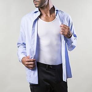 Canotta con camicia