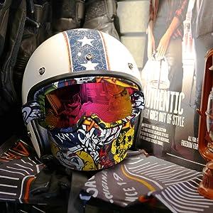 Mascherina Moto Casco UV400 Compatibile WLZP Occhiali moto maschera staccabile Maschera Motocross donne e giovani Uomini per Airsoft CS Desert Offroad Riding Sci Motoslitta in Bicicletta