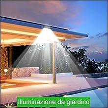 luci solari da esterno