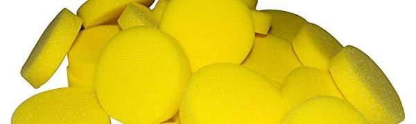 - Pittura Spugna Artigianato Spugna - Spugna Sintetica per Pittura Arte e Artigianato Spugne Rotonde per Artista e Bambini Acquerelli Spugna 25 Pezzi BELLE VOUS Artista Spugne 7.62 x 2cm