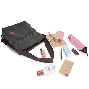 Borsa donna zaino zainetto borsa tracolla tela grande grandi borse a spalle lavoro shopping viaggio