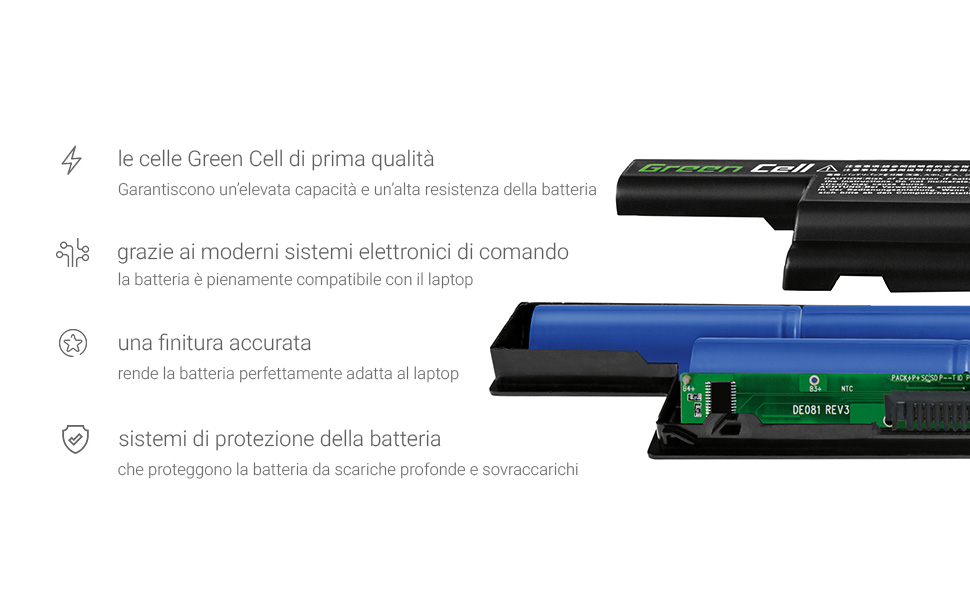 Green Cell Batteria per Portatile