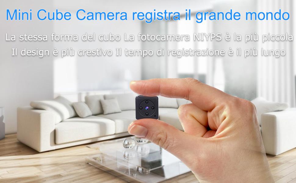 Telecamera Nascosta Da Esterno : Micro telecamera nascosta spia niyps p portatile mini