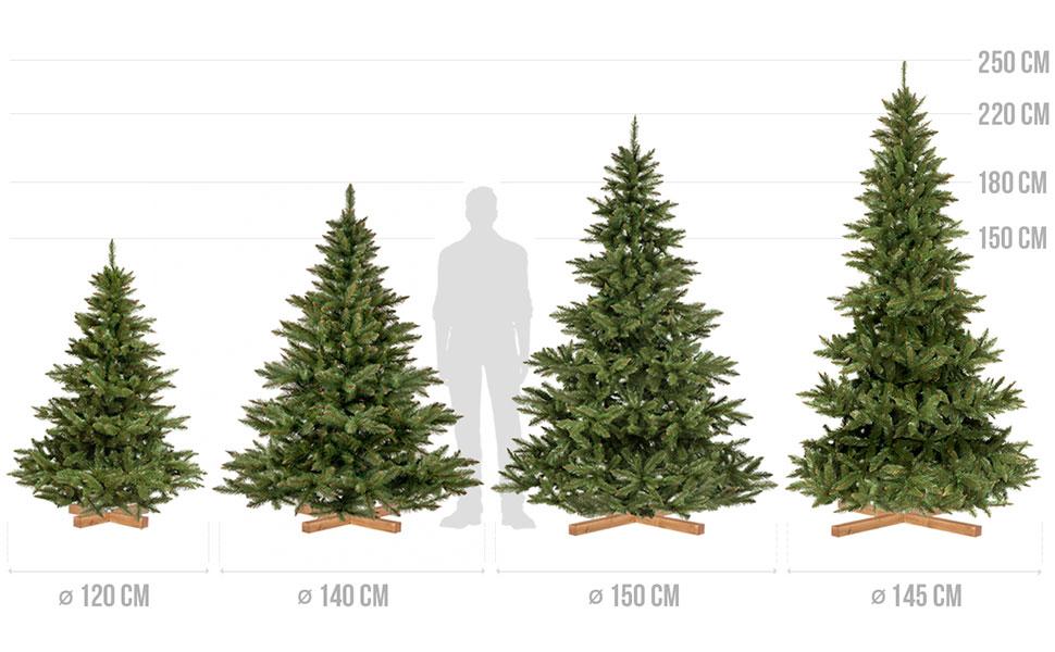 Albero Di Natale 250 Cm.Fairytrees Abete Nordmann Tronco Verde Albero Di Natale Artificiale Pvc Supporto In Legno 220cm Amazon It Casa E Cucina