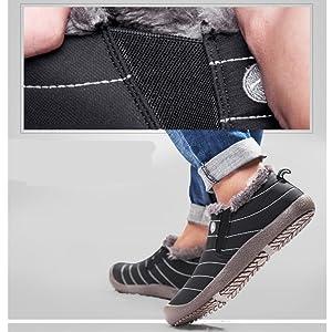 Stivali Scarpe Caldo Invernali Outdoor Donna Uomo Piatto Saguaro® L5jq3A4cR
