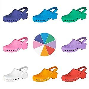Disponibili in 8 colori