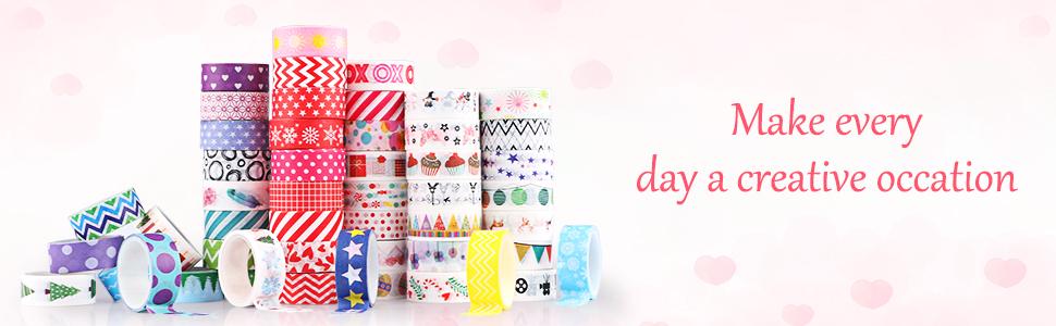Yo Washi tape cute Lace Flower Clear DIY nastro adesivo decorativo di nastro adesivo di carta per scrapbooking e decorazioni per scrapbooking Phone DIY 3/x rotolo vi