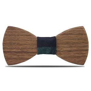 Legno Papillon cravatta YFWOOD handmade legno Self tie unico legno ... 436869f3f42b