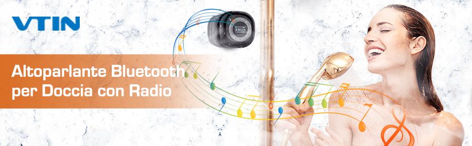 altoparlante doccia