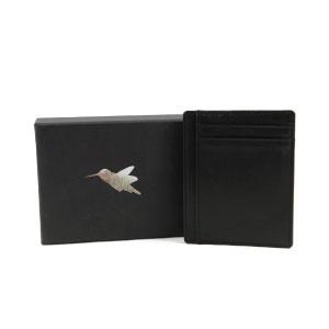 62a94256c9 Porta carte sottile di Nomalite | Portafoglio nero da tasca per ...