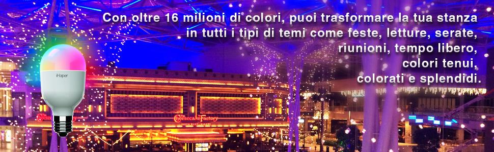 Con oltre 16 milioni di colori