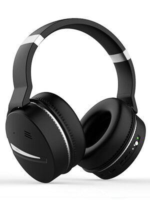 Mighty Rock E8D Cuffie Bluetooth con Cancellazione Rumore Over-Ear ... d5d289f88b5f