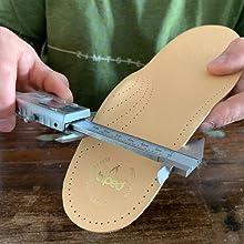 Johannes con inserti di scarpe biped