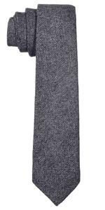 DonDon cravatte fatte a mano righe quadri accessoire stretta seta regalo lungo ampia lucida maglia