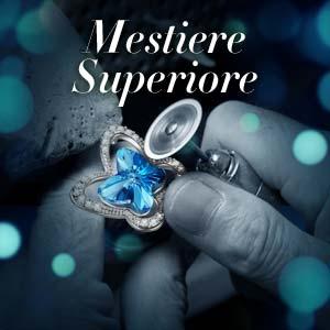 * La tecnologia di lucidatura perfetta rende la superficie dei gioielli più liscia e brillante.