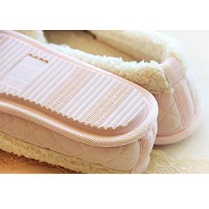 Tomaia in Cotone. La fodera in peluche calda di alta qualità e la parte  superiore in cotone delle pantofole ... b101d7d3086