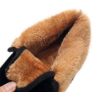 uirend Scarpe Pantofole Uomo - Uomo vestibilità Larga Completamente ... 0ffcd592230