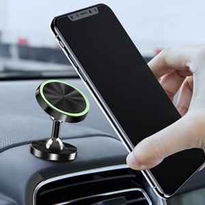 Viedouce 2 Packs Supporto Auto Smartphone Magnetico Universale,360 Gradi di Rotazione Porta Cellulare Auto,Supporto Magnetico da Auto per iPhone Stlye-01