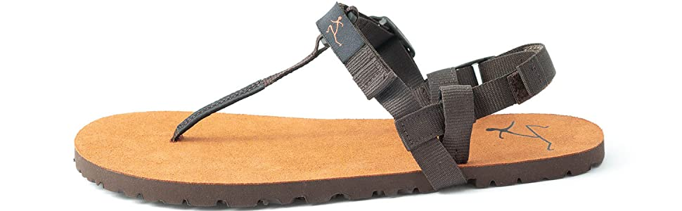 Pies Sucios Terra Zip Sandals